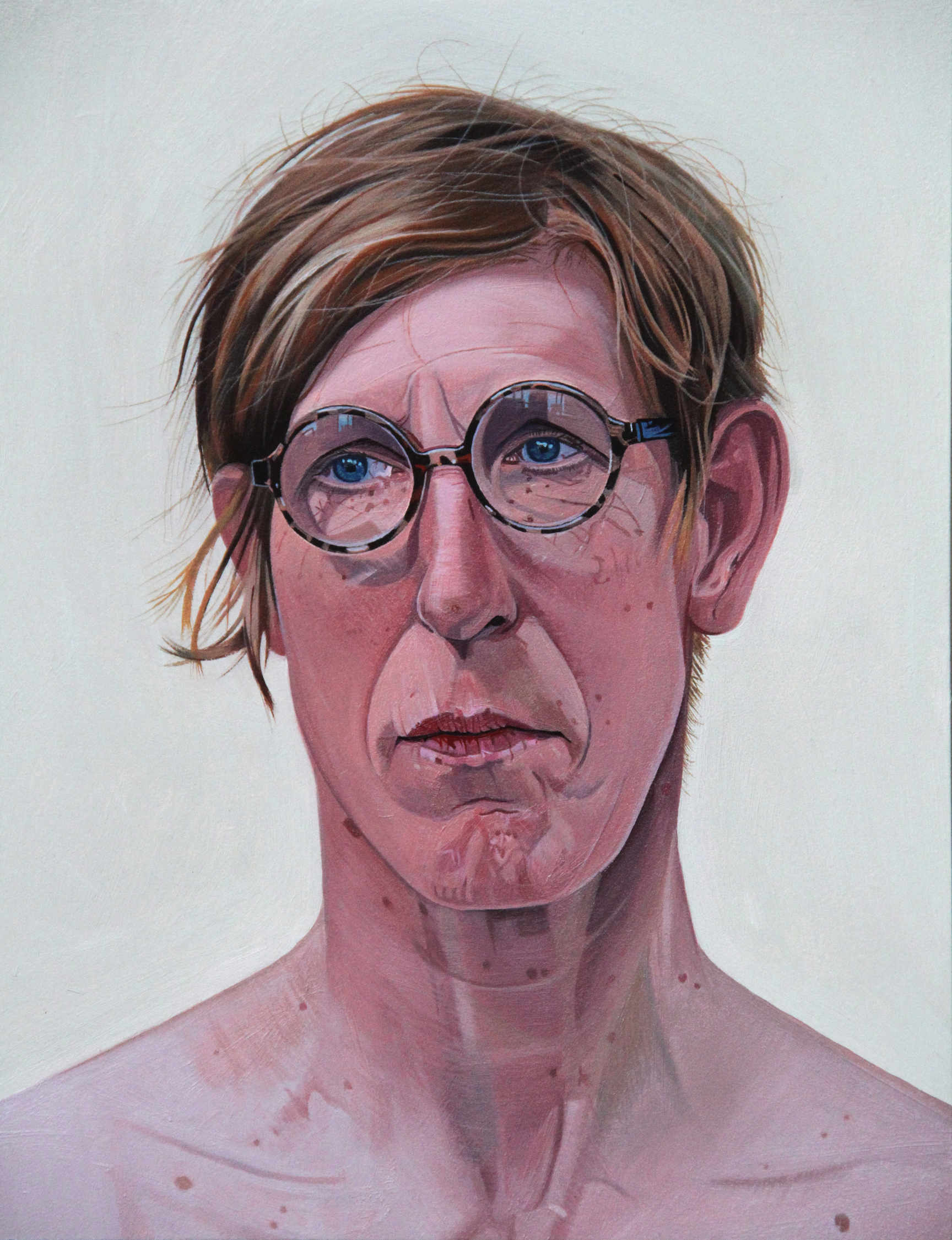 Tony Noble, Suki the life model., Oil on panel., 30 x 24 x 2,  http://www.tonynoble-artist.com