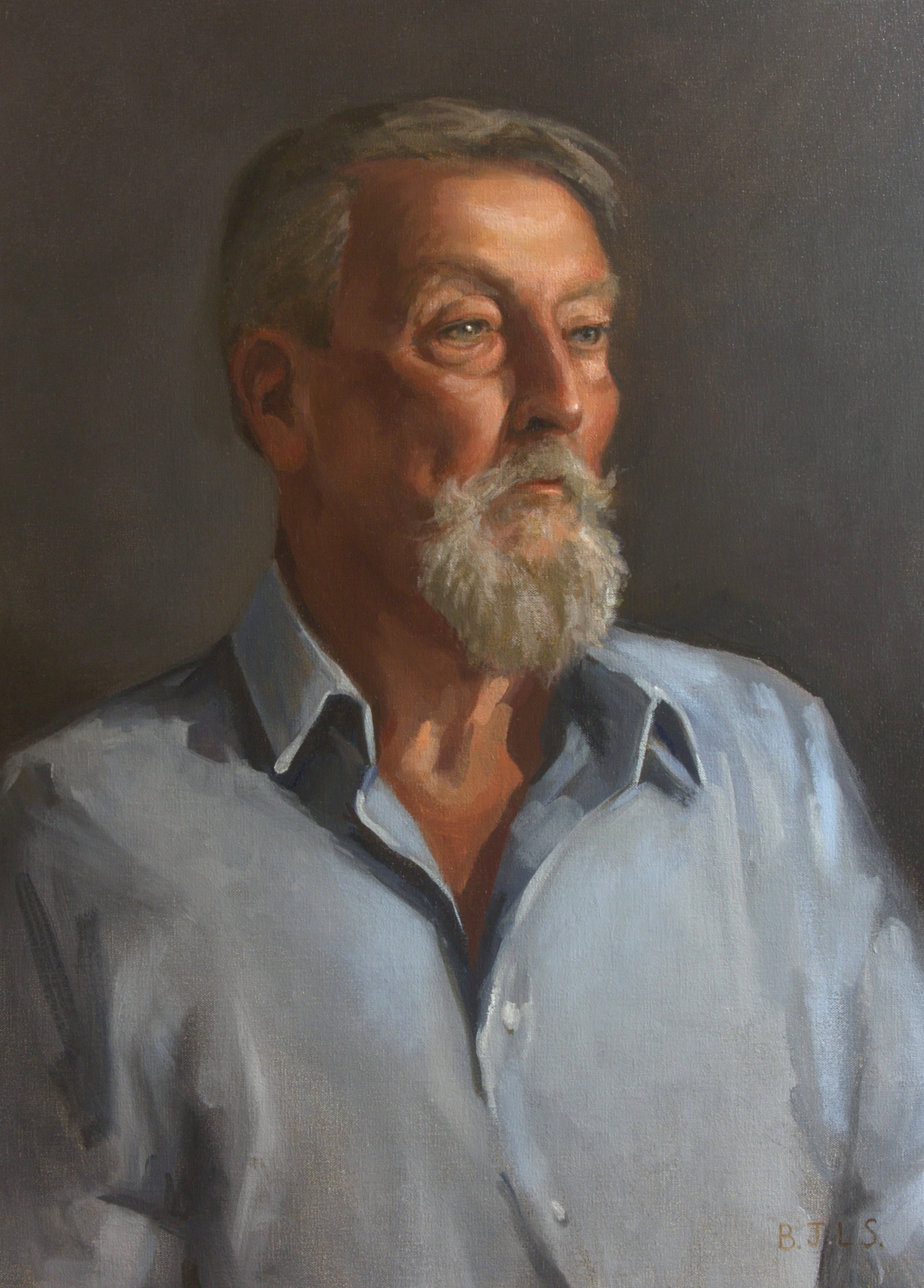 Benjamin Smith, Tony, Oil, 88 x 63 x 4
