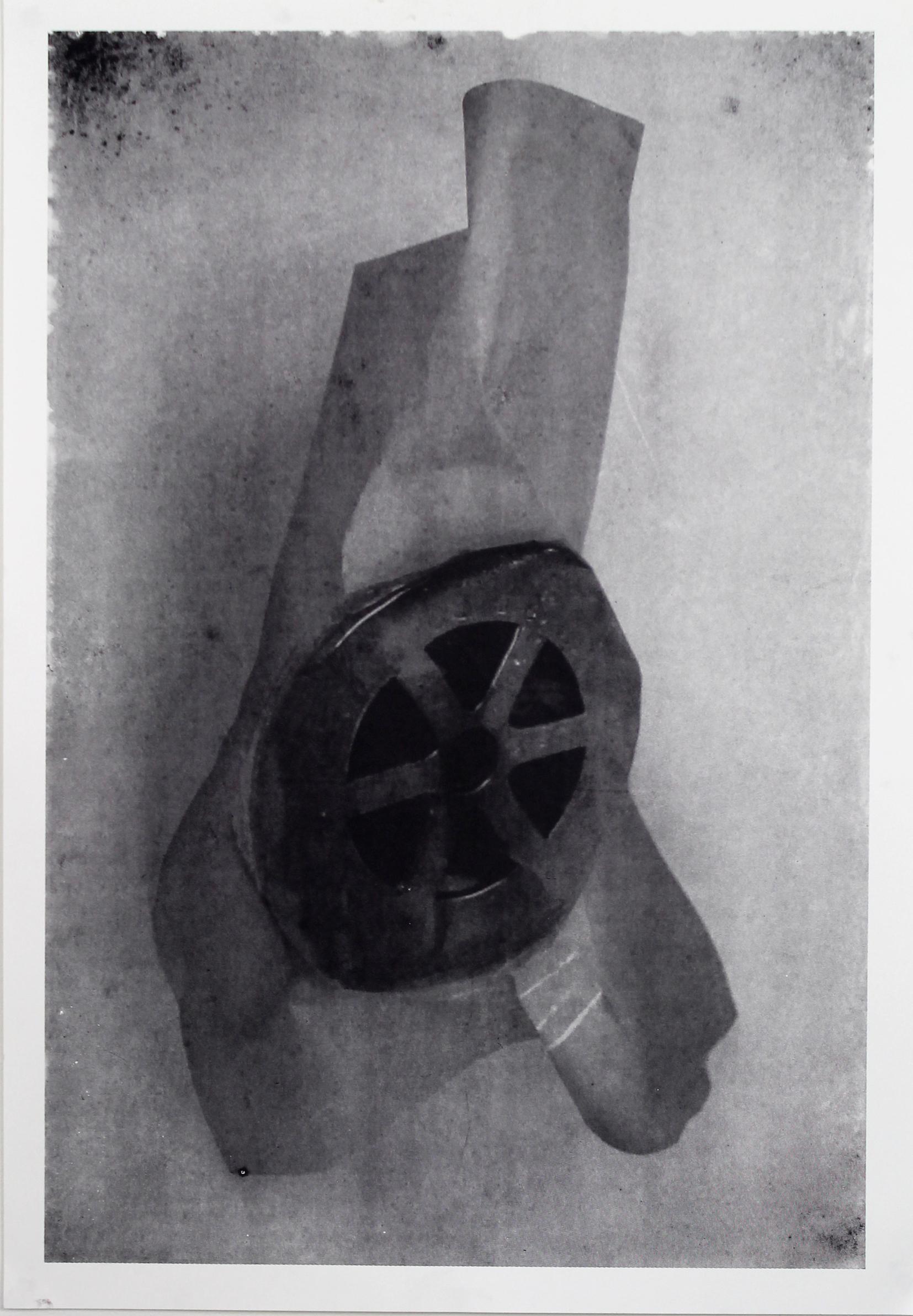 Louis jeck Prestidge, Paper plug, screenprint on paper, 84cmx59cm,  http://www.louisjeckprestidge.com