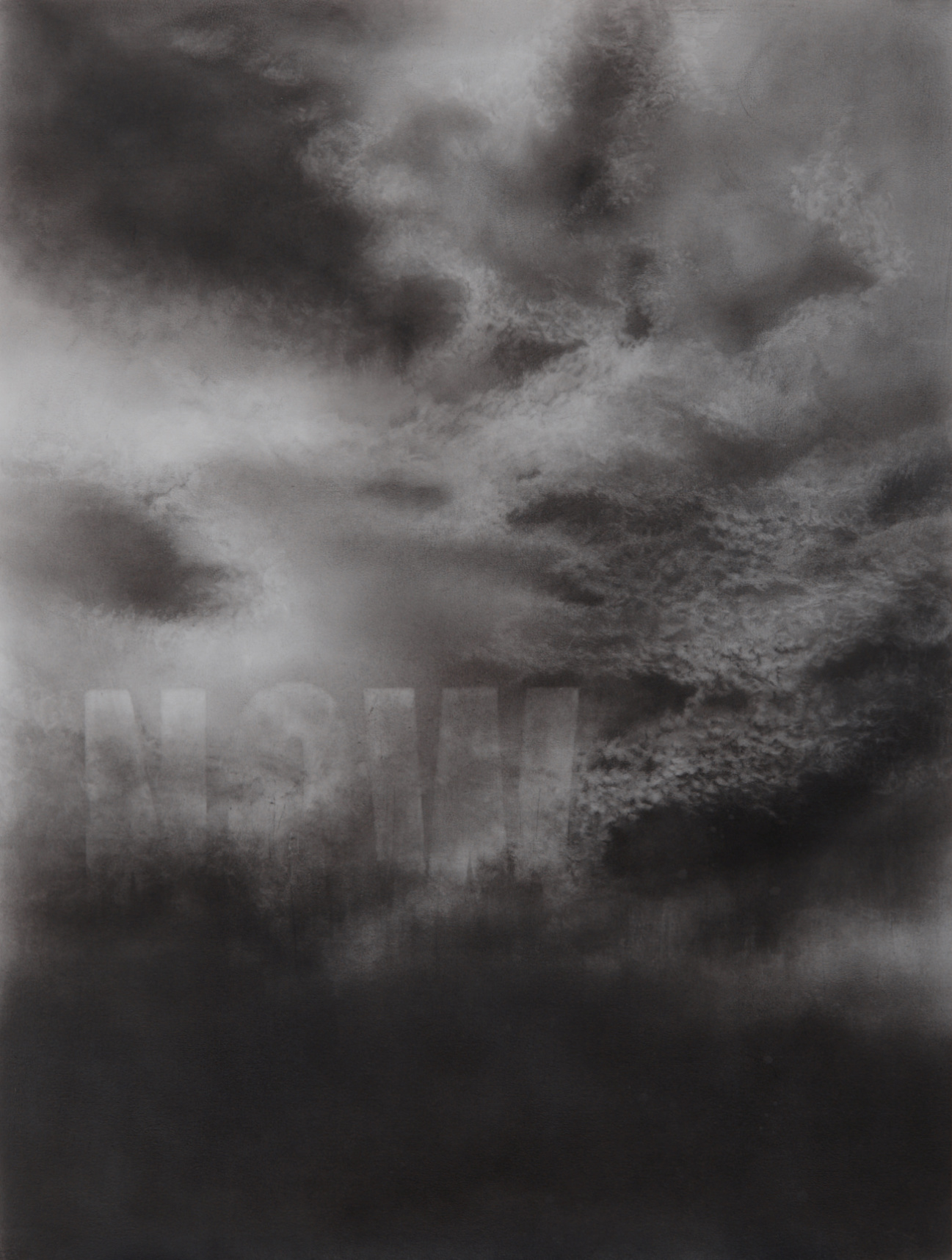 Nicola Watson, NOW, Graphite on paper, 60cm x 80cm,  http://nicola.works