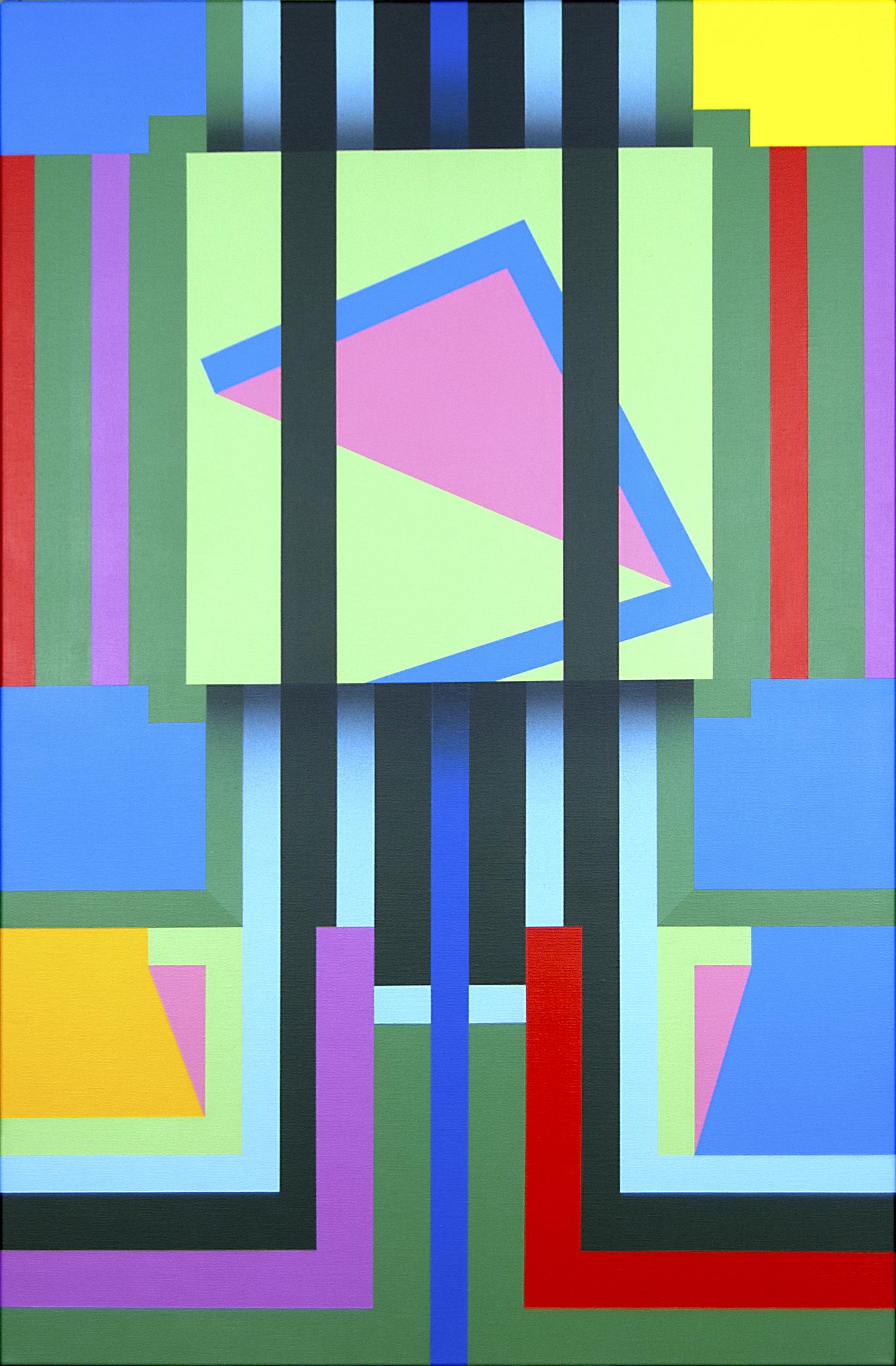 Graham King, The Artists Studio, Acrylic on canvas, 91.4cm x 61cm x 1.6cm
