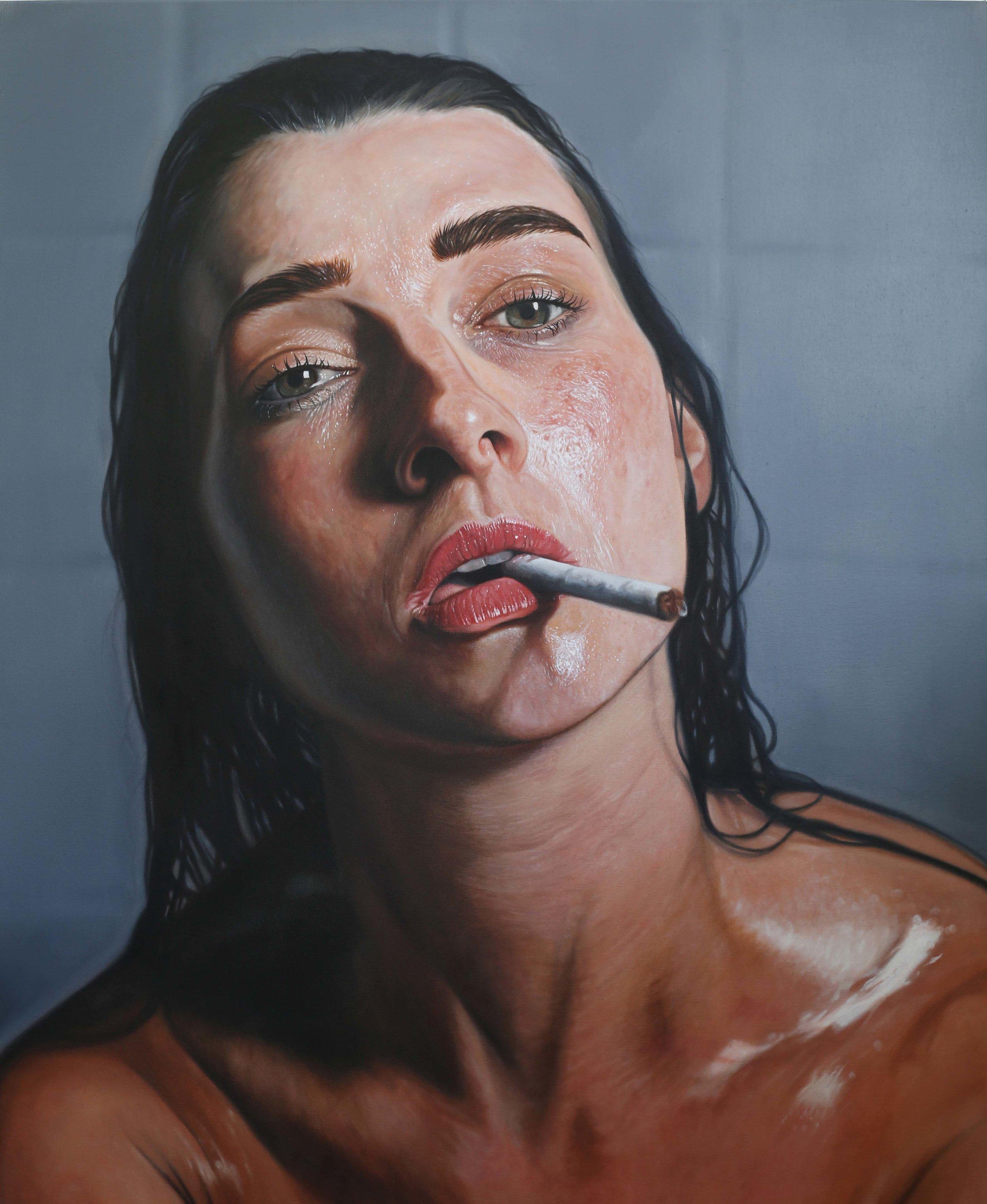 Anton Byrne-Carter, Amy, Oil on Canvas, 153 cm x 122cm x 4.5cm
