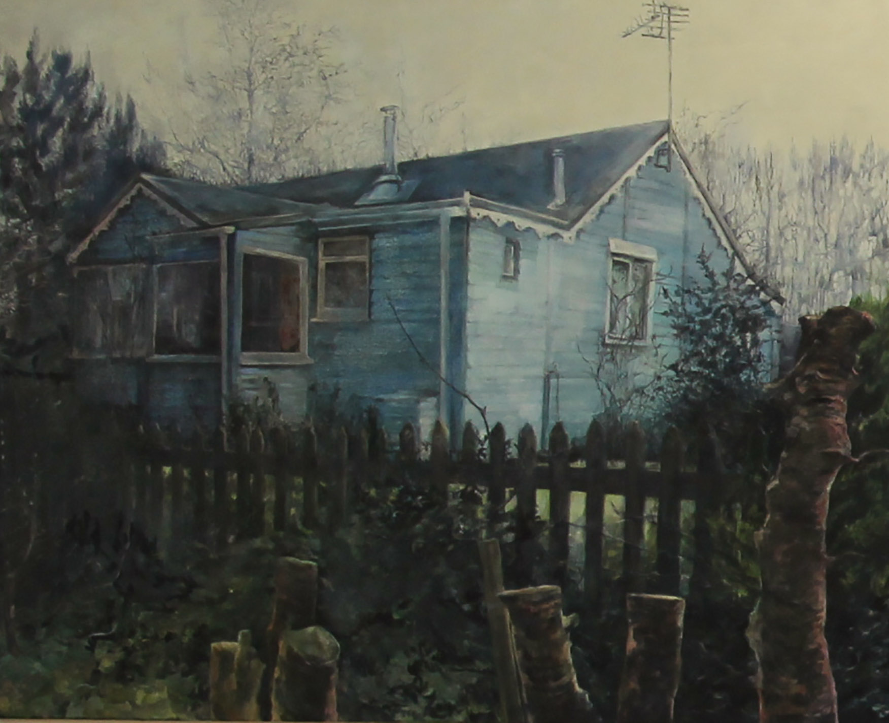 Judith Tucker, 4. There's always something you need to do that you've never done before, Oil on Canvas, 36 x 48 inches,  http://www.projectfitties.com/