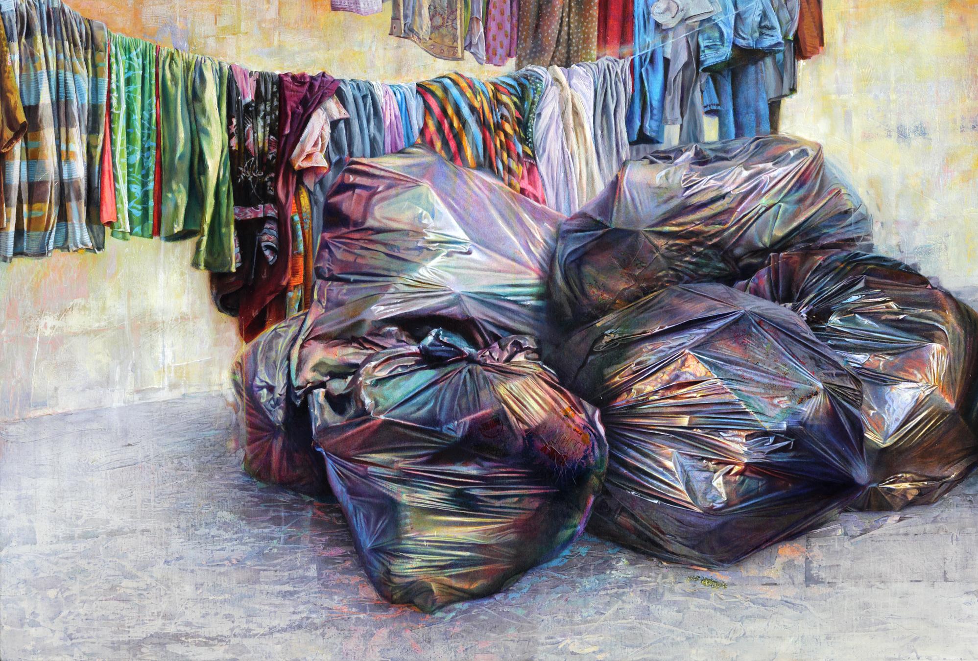 David Agenjo, Still Life, Oil on canvas, 95 x 140 x 3 cm,  https://davidagenjo.com
