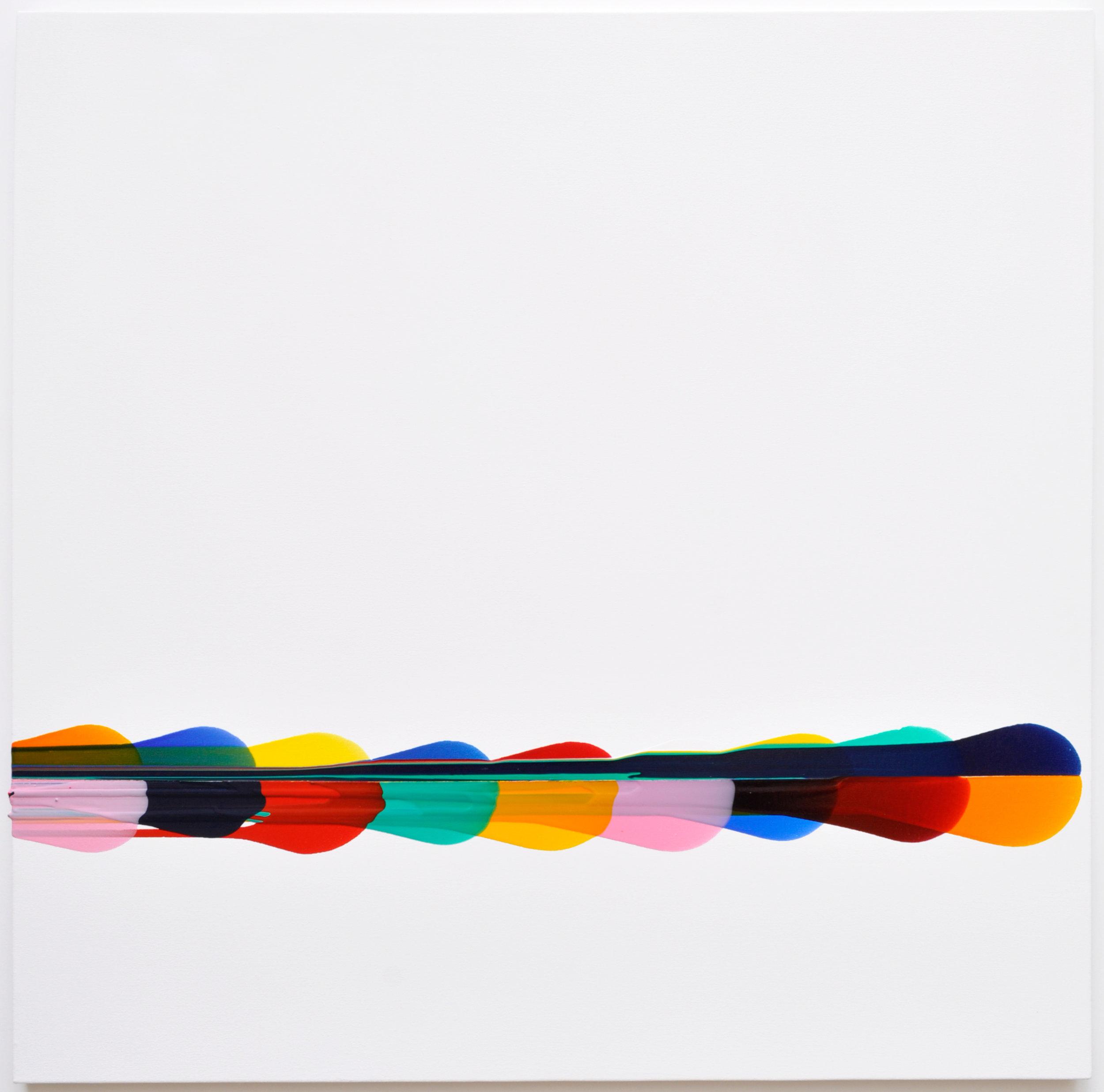 Sarah Porter, Monte Carlo, Acrylic on canvas, 90cm x 90cm x 1cm,  http://www.sarahemilyporter.com