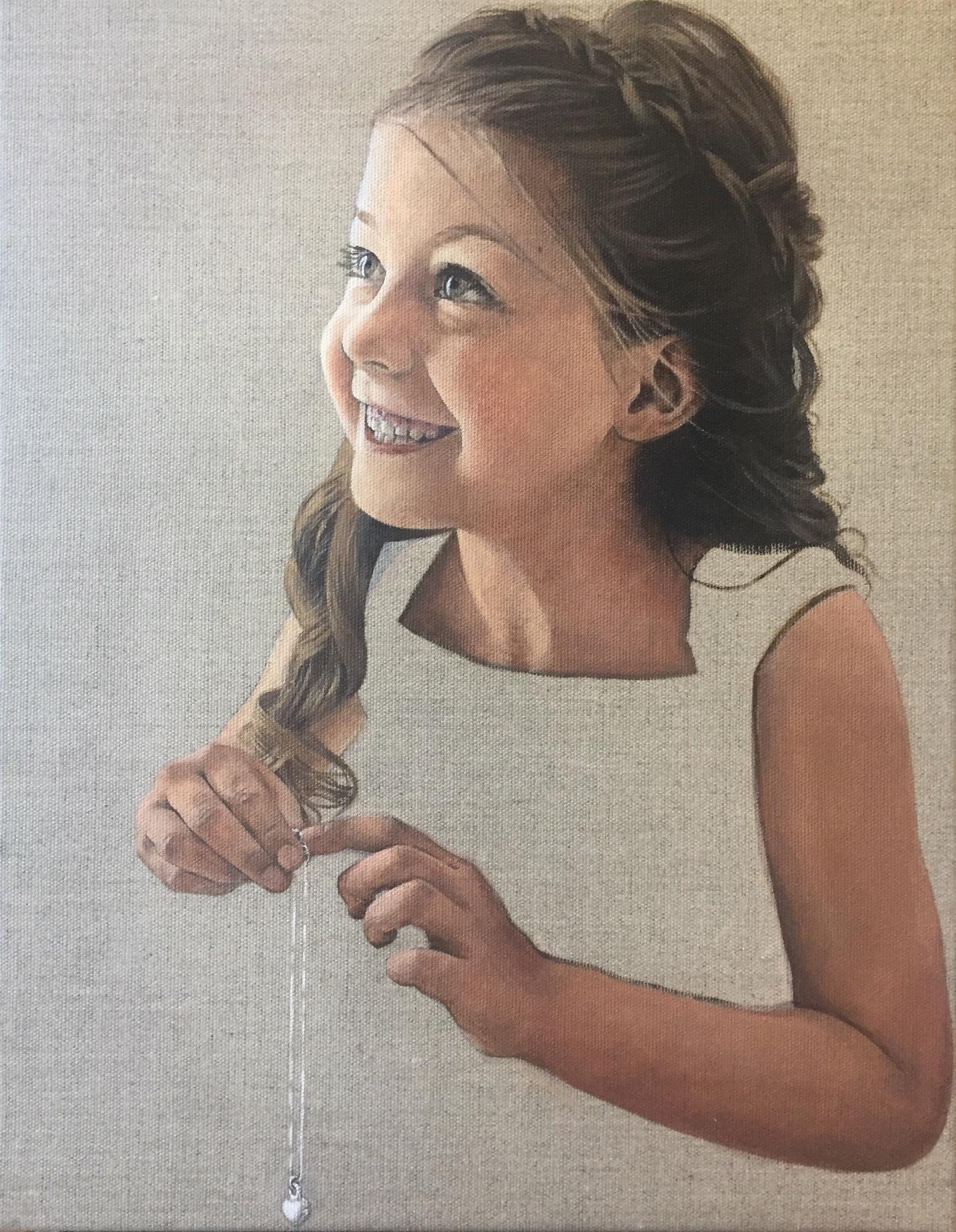 People's Choice Award Winner: 'Flower Girl' by Anna Judge