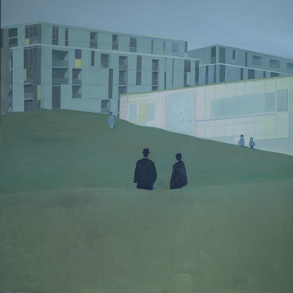 Uchercie Tang, 'Energy Flow', Oil on canvas, 90 x 90 cm,   www.uchercie.com