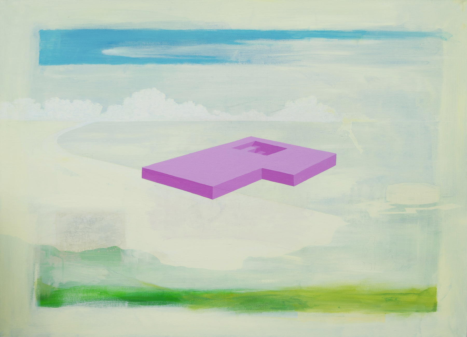 Gary Scholes, 'Component', Acrylic on canvas, 92 x 127 x 4 cm,  https://www.garyscholes.com/