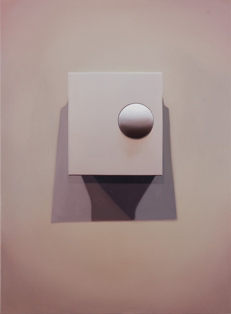 David Micheaud  S&S Thermostat  Oil on canvas, 76 x 56 x 2 cm  http://davidmicheaud.com