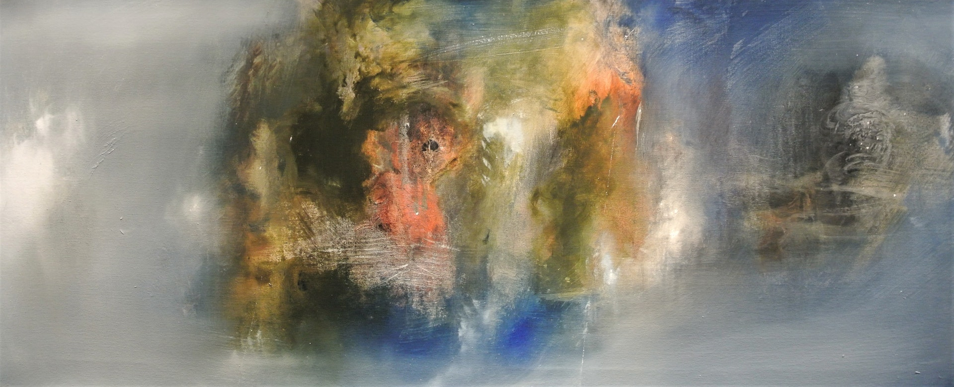 Fernando Velazquez  Ruh Nobati  Oil on canvas, 50 x 120 cm  http://www.fernandovelazquez.co.uk