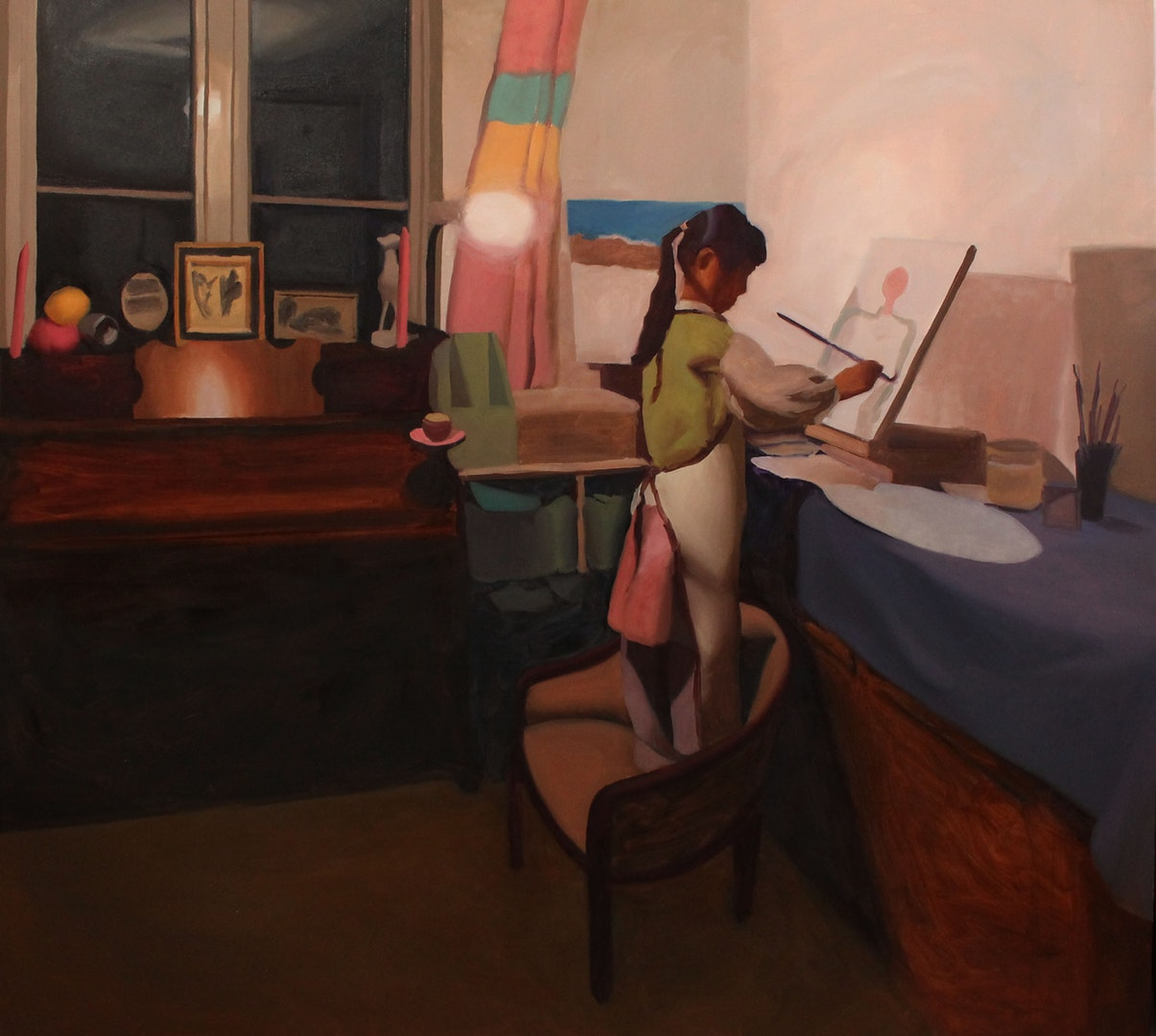 Helen Perkins  Isabella painting  Oil on canvas, 110 x 150 x 3 cm  http://www.helenperkins.co.uk