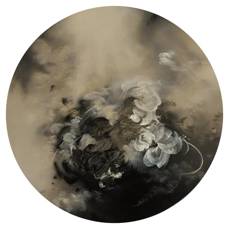 Jaya Mansberger  Aerial  Oil on canvas, 30 x 30 x 2 cm  http://www.jayamansberger.co.uk