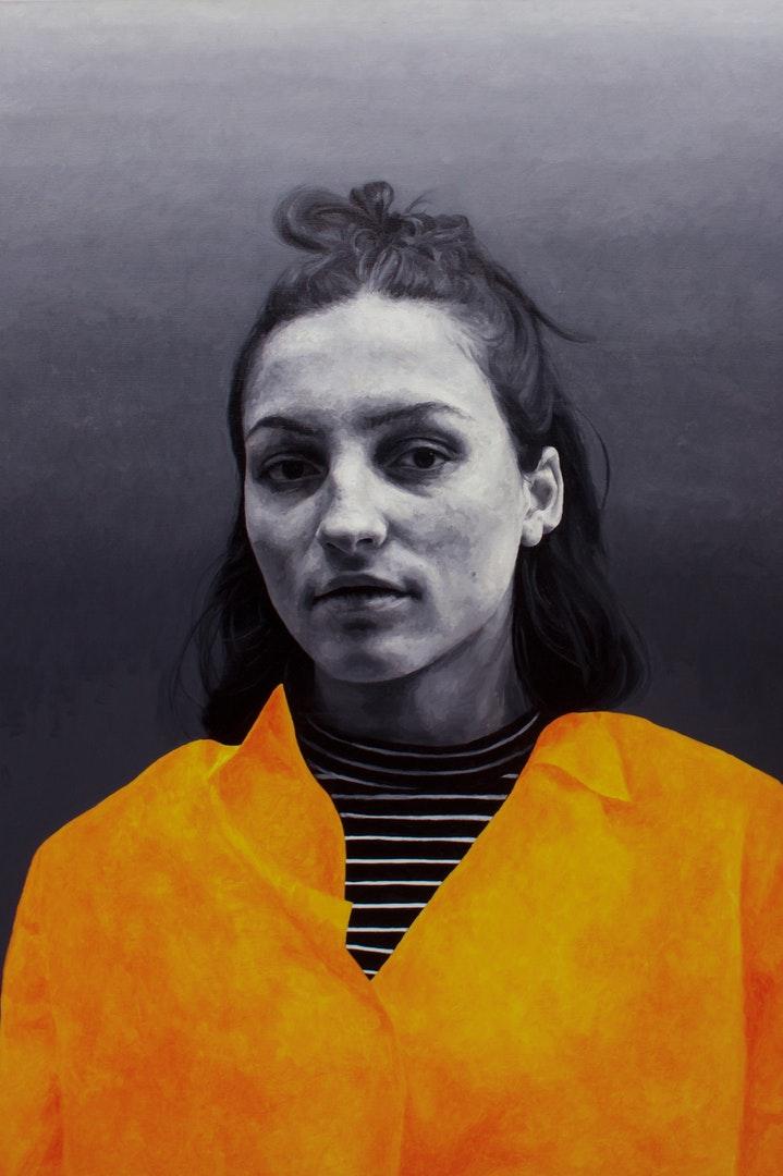 Matt Herriot  Hazard  Oil on canvas, 182 x 121 x 6 cm  http://www.herriotart.com