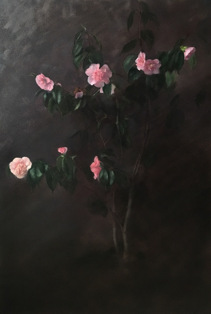 Nneka Uzoigwe  Camellia Finlay  Oil on linen, 110 x 75 cm  http://www.nnekauzoigwe.com
