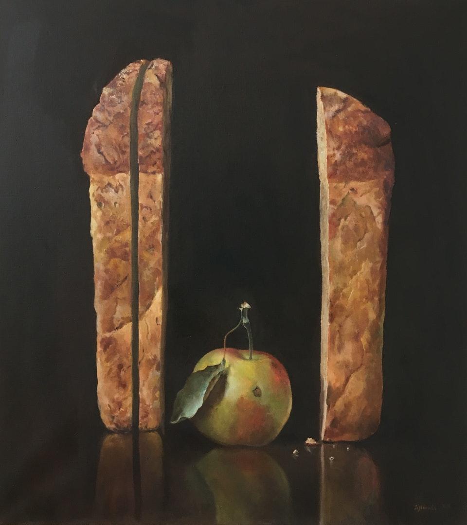 Oleg Sizonenko  simple things  Oil on canvas, 100 x 90 x 2 cm  https://www.facebook.com/iosif.etkin