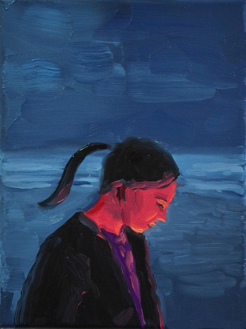 Owen Normand  Still Burns  Oil on canvas, 24 x 18 x 2 cm  http://www.owennormand.com