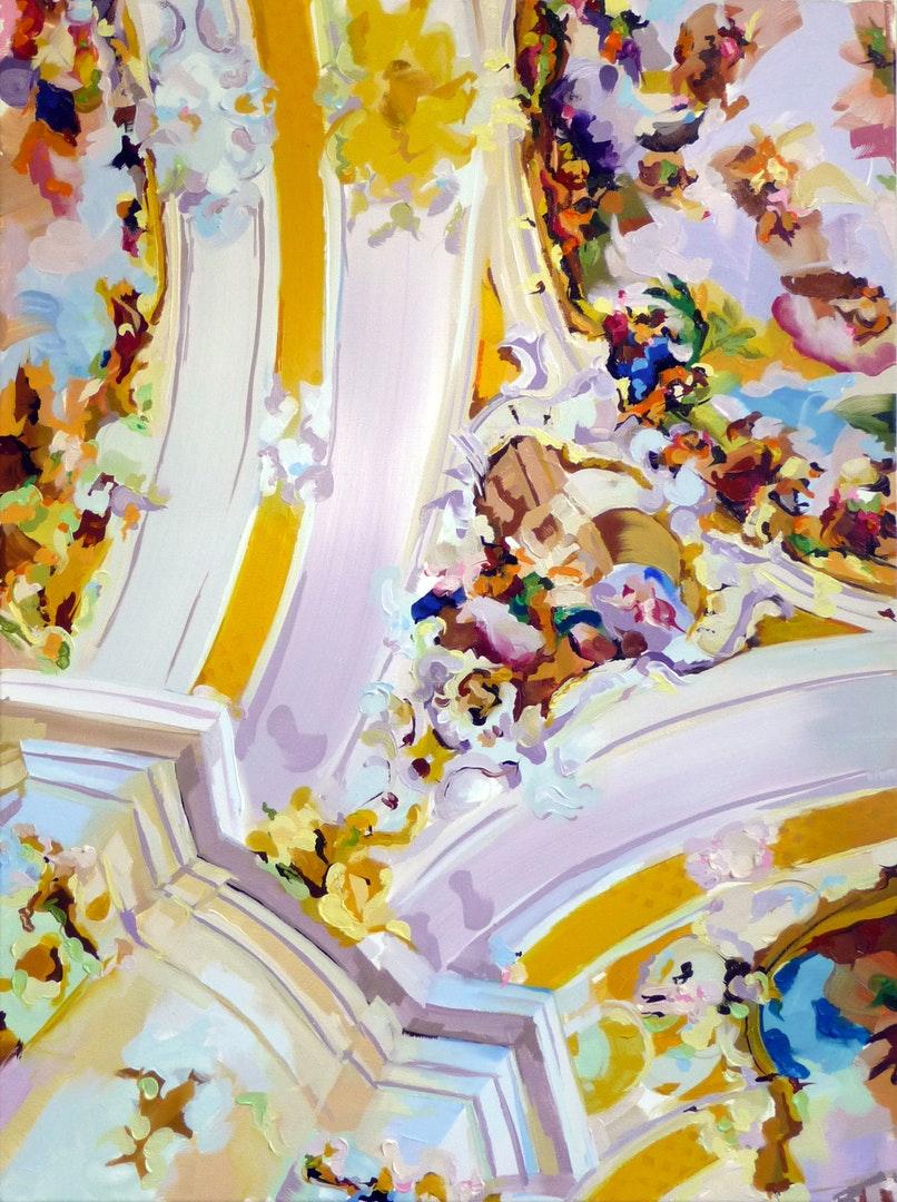 Philip Williams  Chromecast  Oil on canvas, 75 x 100 cm  http://www.philipwilliamsart.com