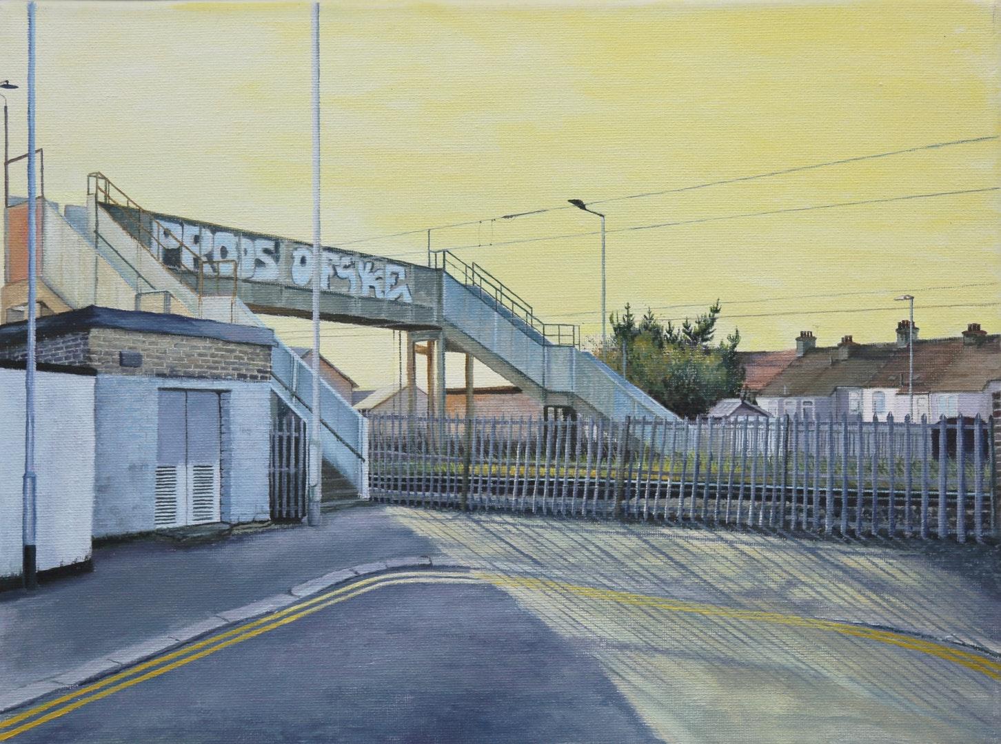 Rob Reed  Offski  Oil on canvas, 30 x 40 x 2 cm  http://robreedpaintings.com