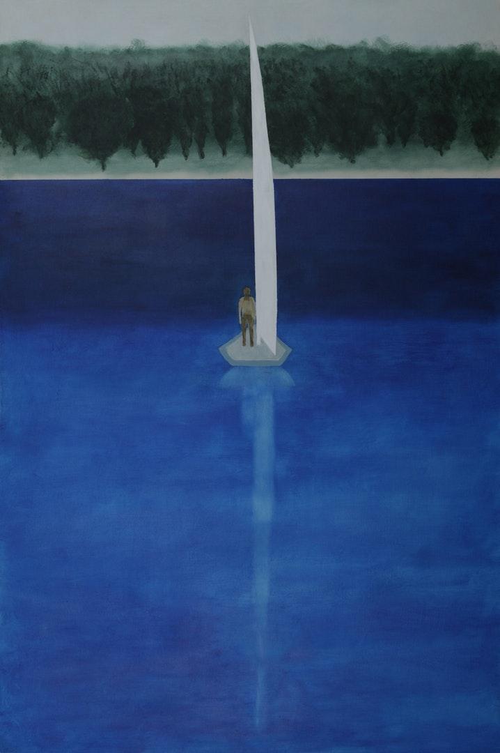 Robin Pearce  New Horizons  Acrylic on board, 74 x 50 cm  http://www.robinpearce.com