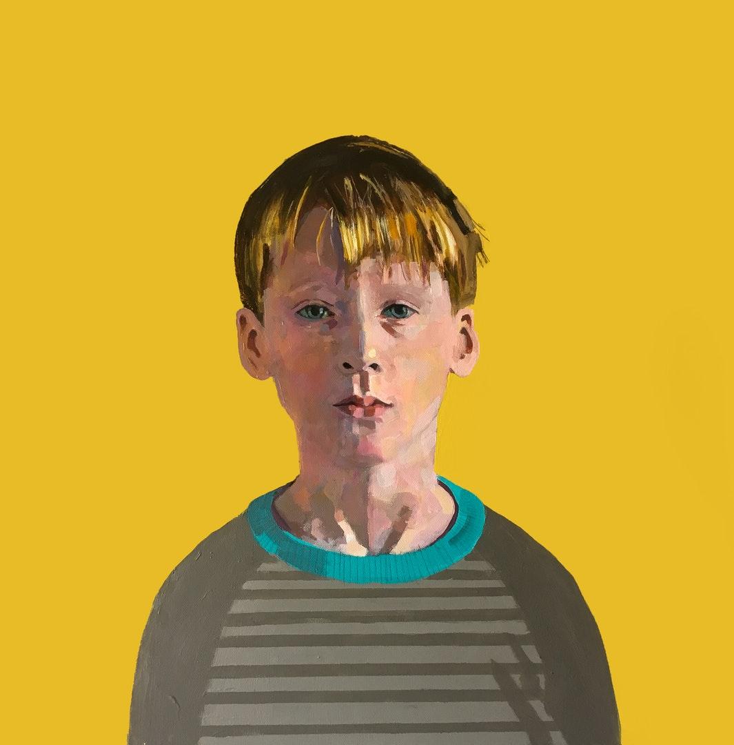 Roy Goodman  Jacob  Acrylic, 61 x 61 x 4 cm  http://www.roygoodman.co.uk