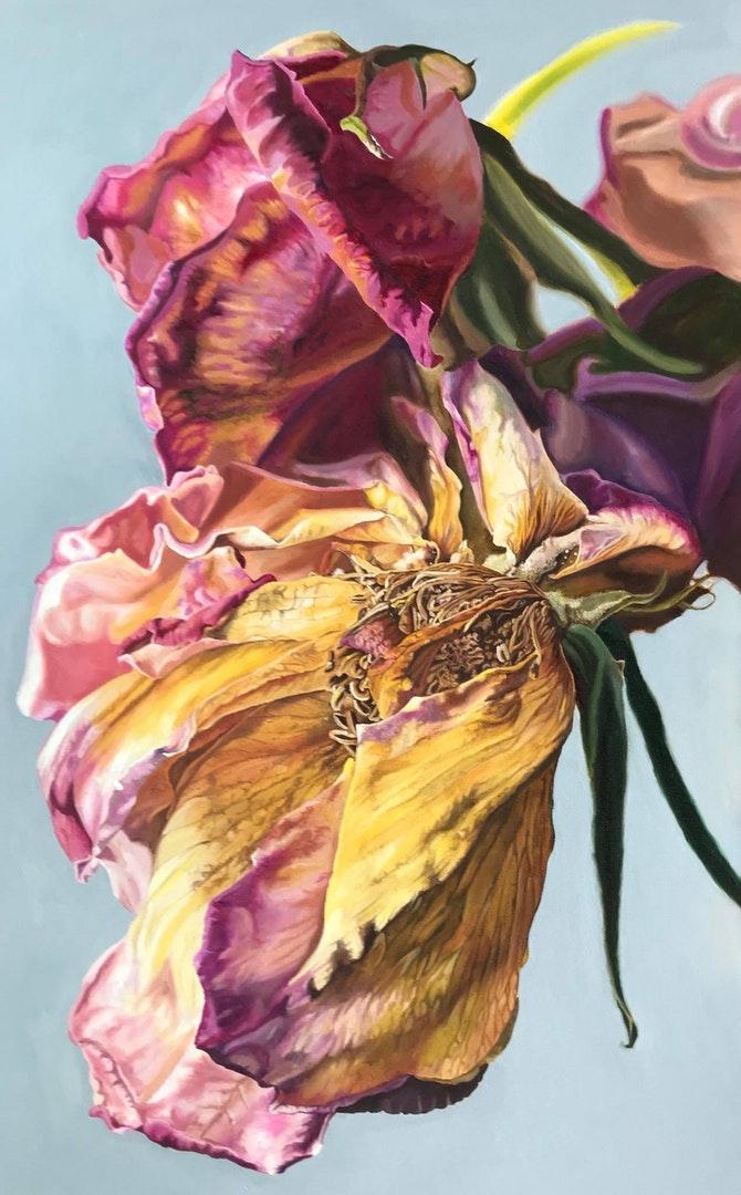 Teresa Overett  Tell Her That I'm Sorry   Oils on canvas, 90 x 60 cm