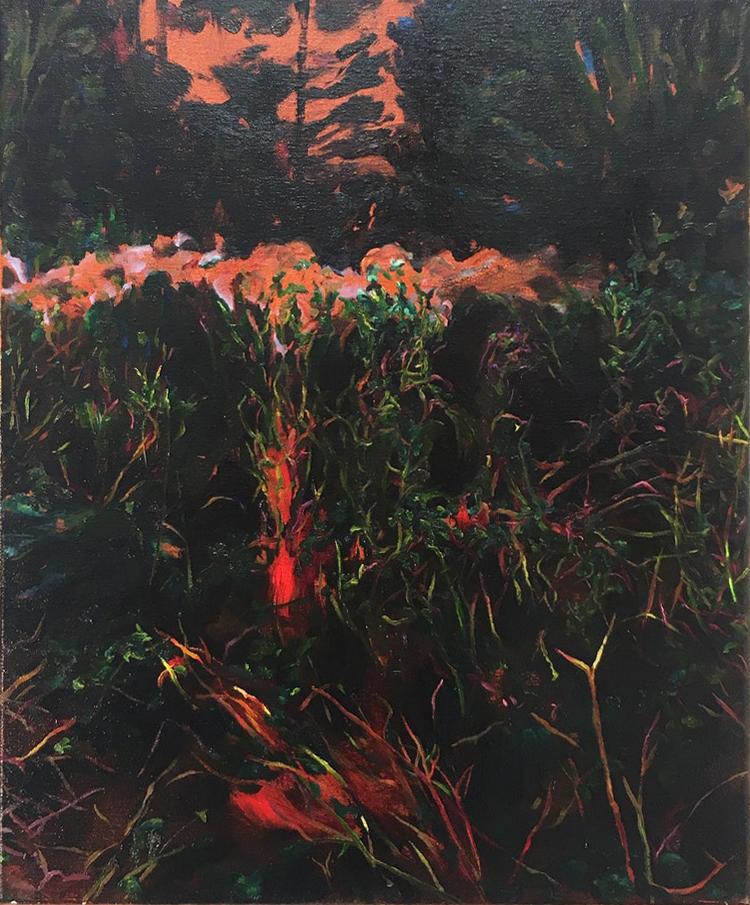 Rose McLaren  Under the Rainbow  Oil on canvas, 50 x 60 cm  http://www.rosemclaren.com