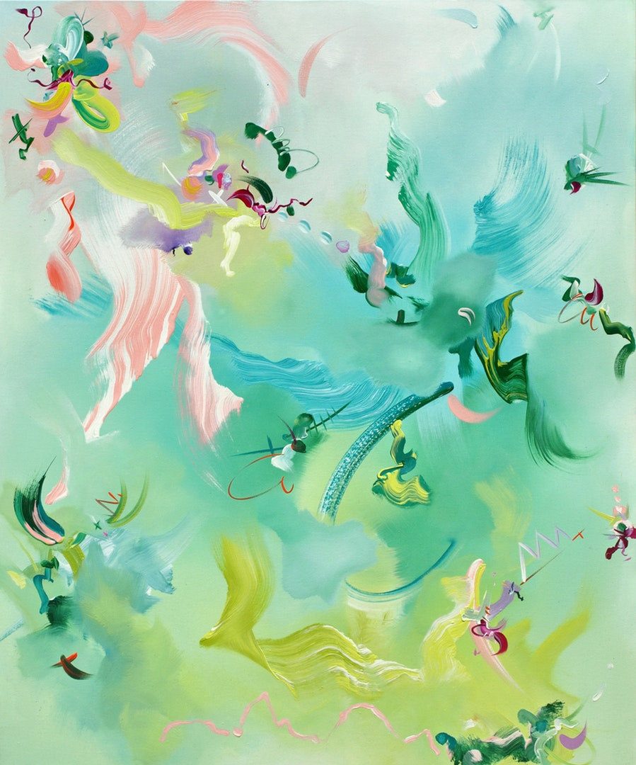 James Tebbutt  Everything's Fine  Oil on canvas, 120 x 100 x 4 cm  http://www.jamestebbutt.com