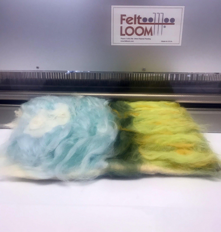 Process of felting