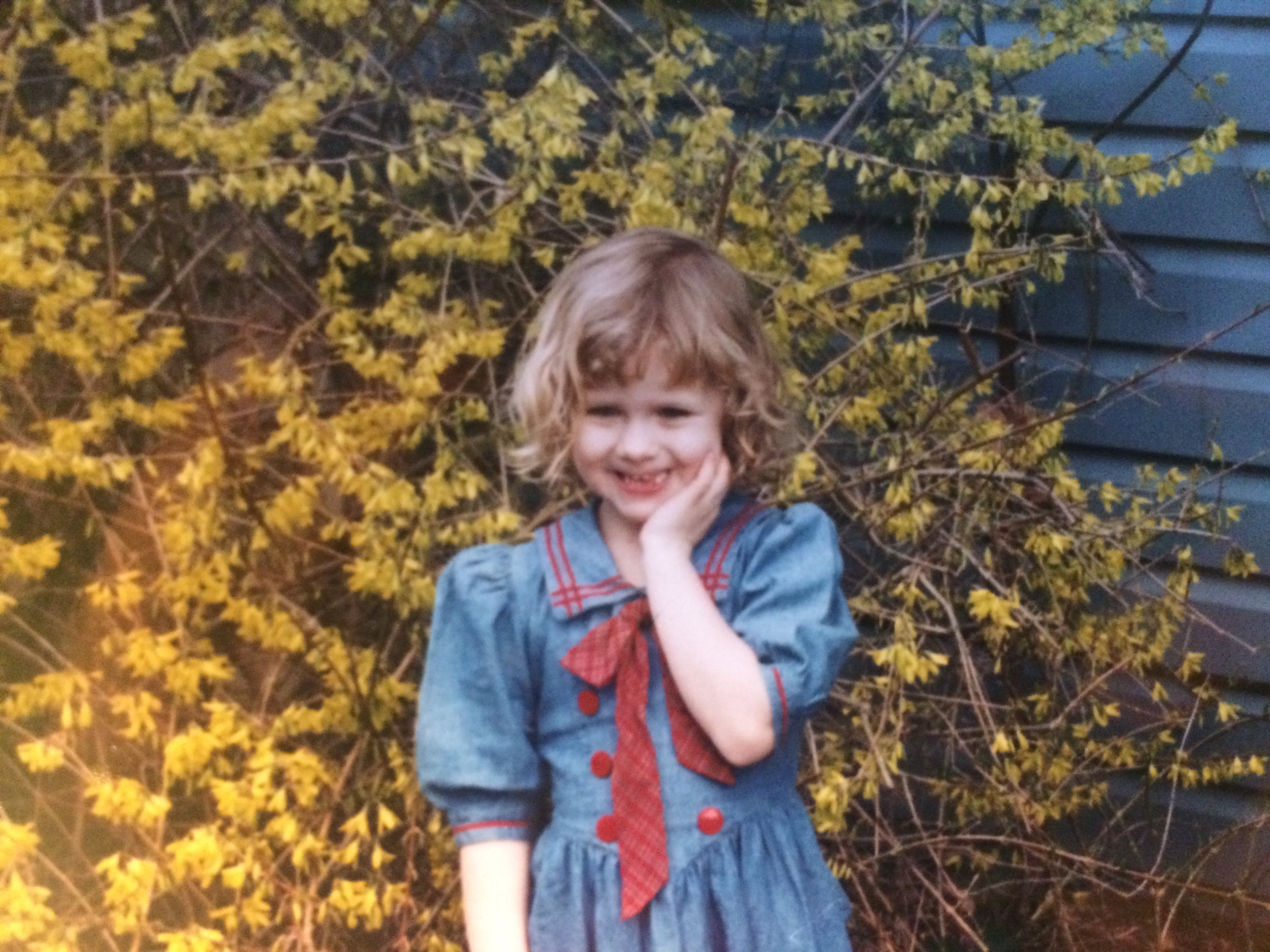 Me, age four