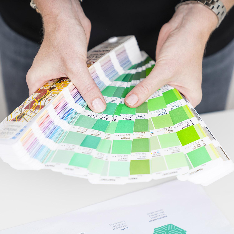Services | Pantone swatch | Beehive Green Design Studio | Logo and Branding Design, WGC, Hertfordshire