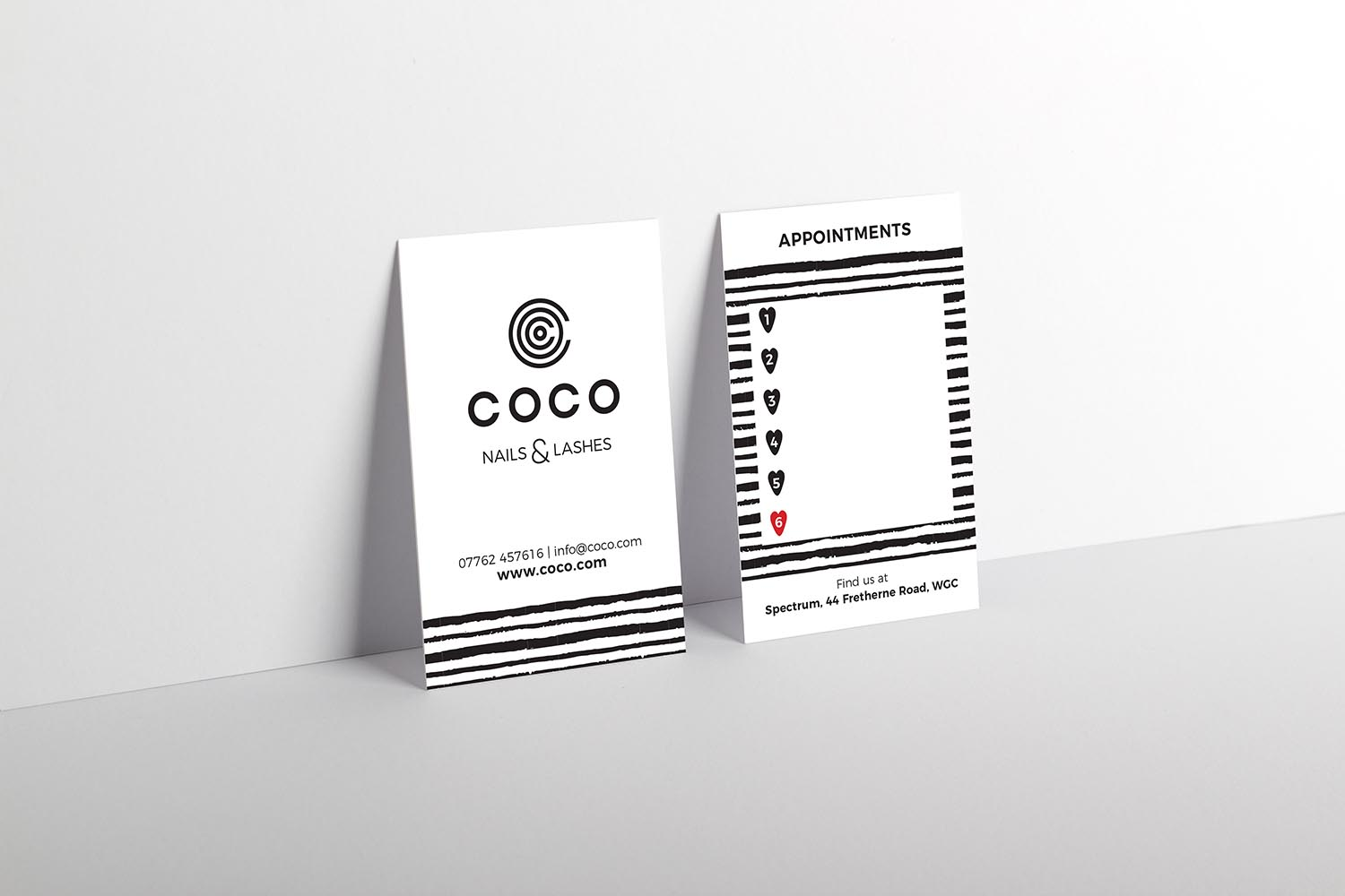 Portfolio project: business card | Beehive Green Design Studio