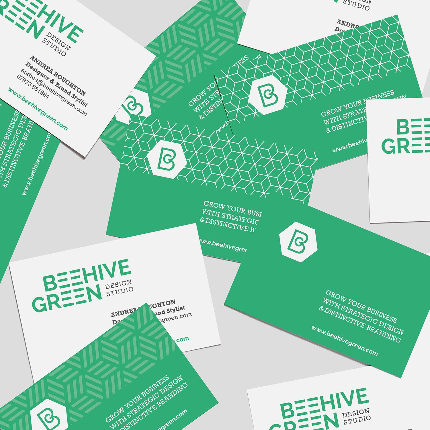 Branding Packages | Premium Package | Beehive Green Design Studio | Logo and Branding Design, WGC, Hertfordshire