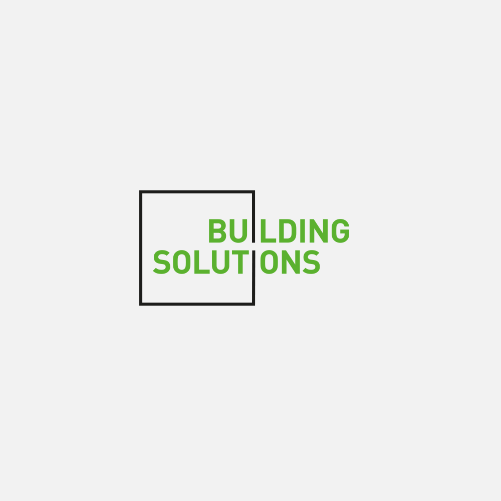 Portfolio | Building Solutions logo | Beehive Green Design Studio