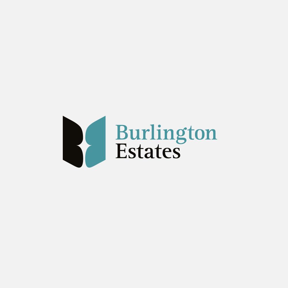 Portfolio | Burlington Estates logo | Beehive Green Design Studio