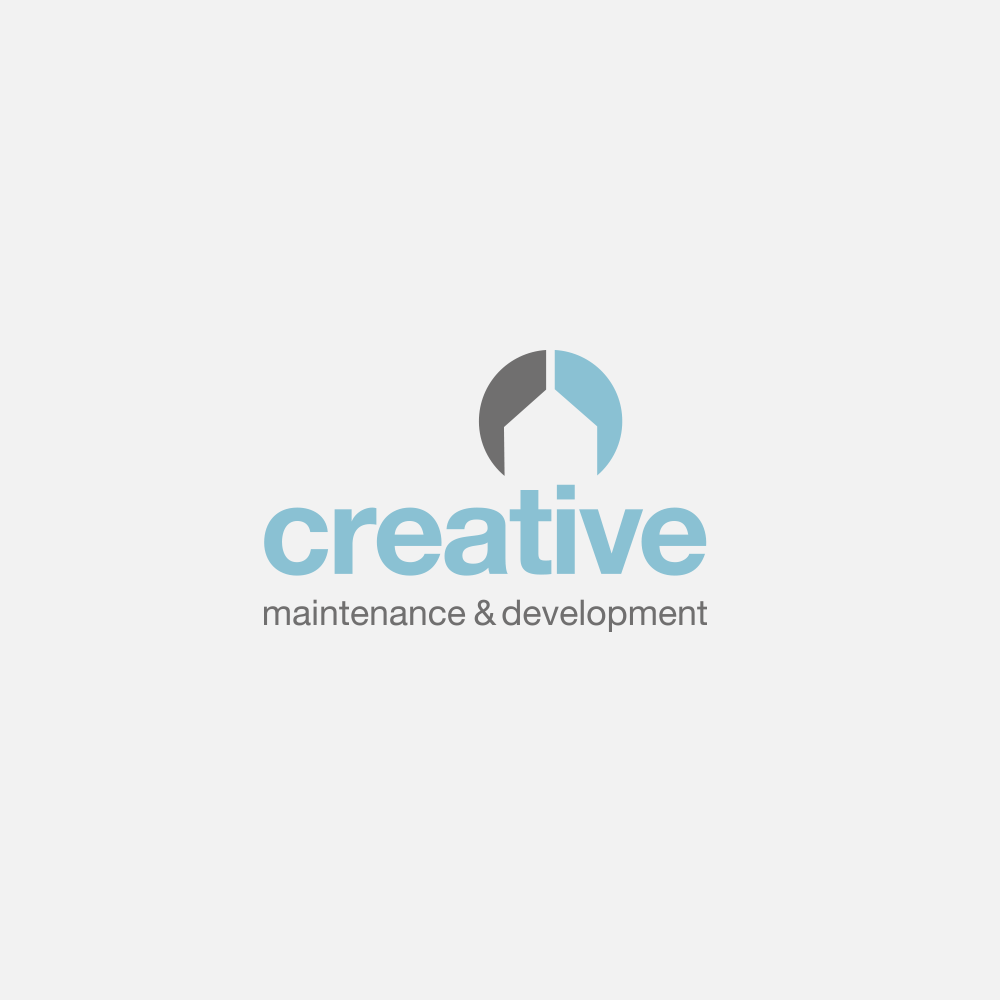 Portfolio | Creative Maintenance & Development logo | Beehive Green Design Studio