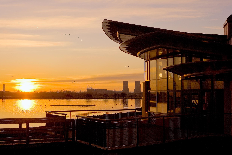 Saltholme, Hartlepool at sunset