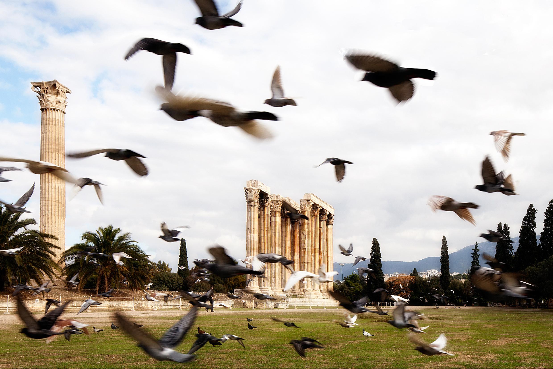 Zeus Temple Athens Greece