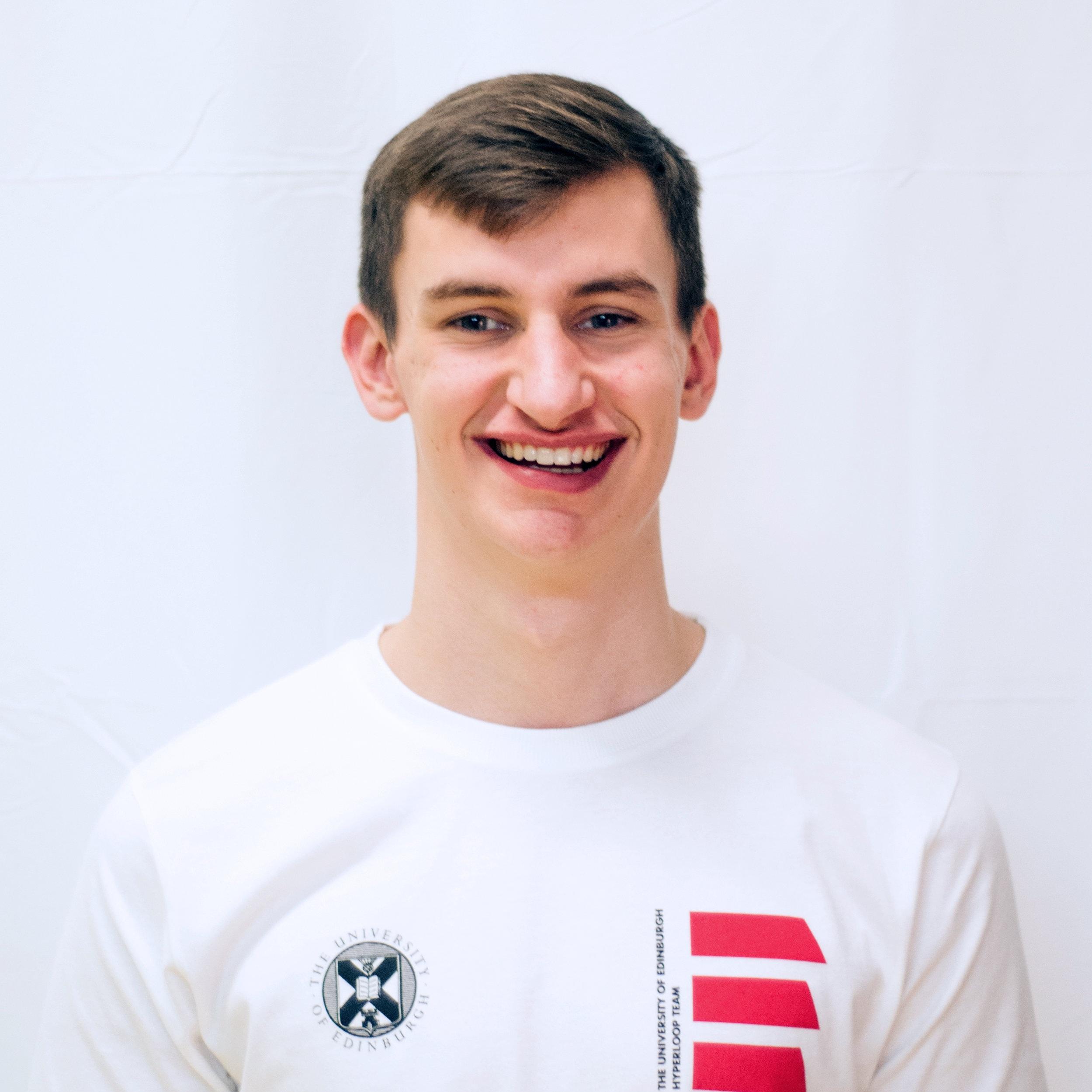 Oliver Clark - Sponsorship Team Member