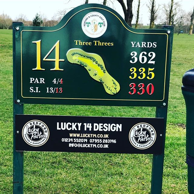 🏌🏻‍♂️🏌️‍♀️ . #webdesign #website #design #graphicdesign #bedford #bedfordbusiness #branding #bedfordshire #lucky14 #bedshour #illustration #logodesign #logo #marketing