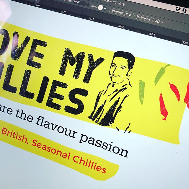 Some exciting new packaging design for the new @lovemychillies Armageddon Chilli landing in all Tesco stores soon. 🌶🔥🌶🔥 . . #webdesign #website #design #graphicdesign #bedford #bedfordbusiness #branding #bedfordshire #lucky14 #bedshour #illustration #logodesign #logo #marketing