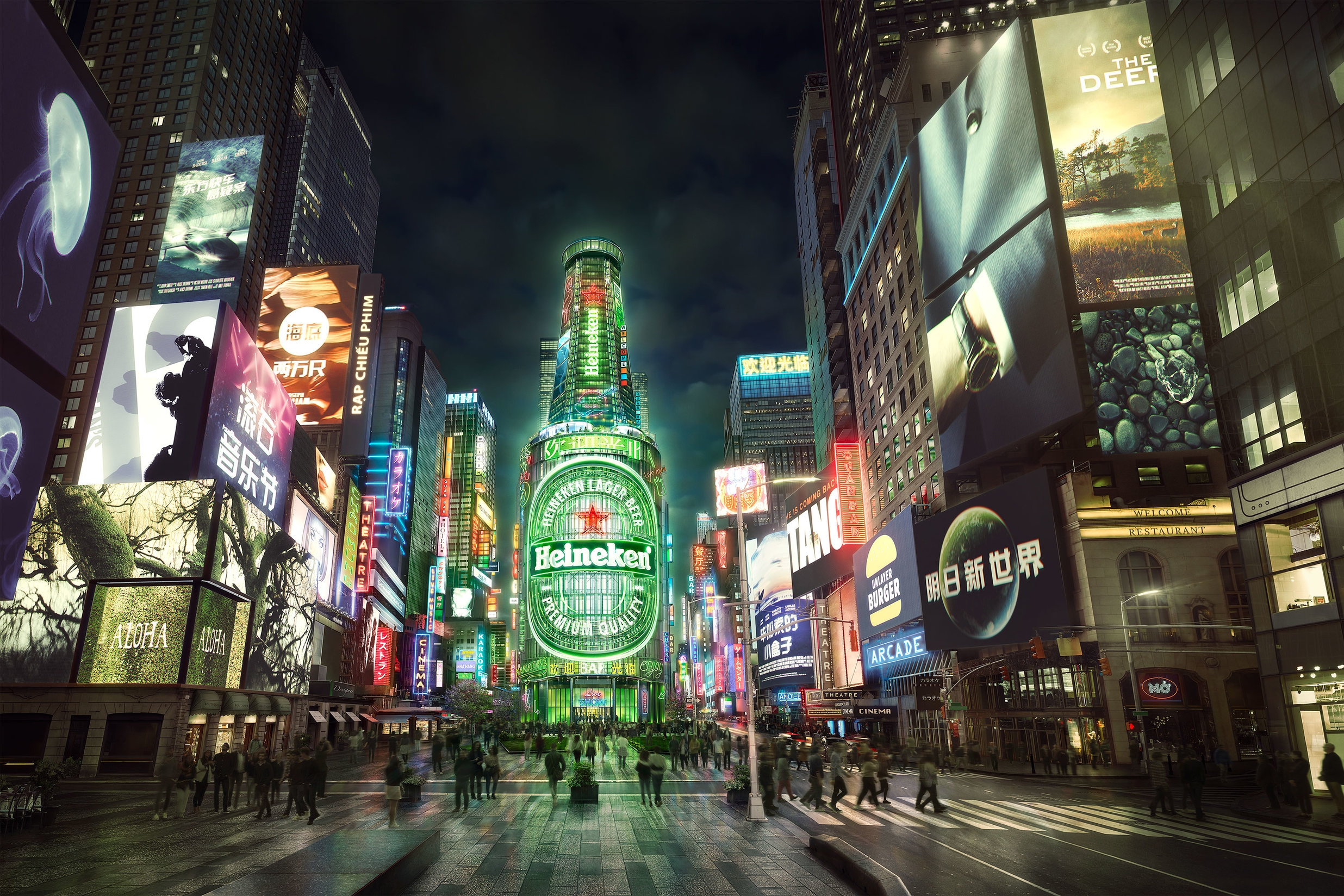 heineken - New York, Chicago, Los Angeles