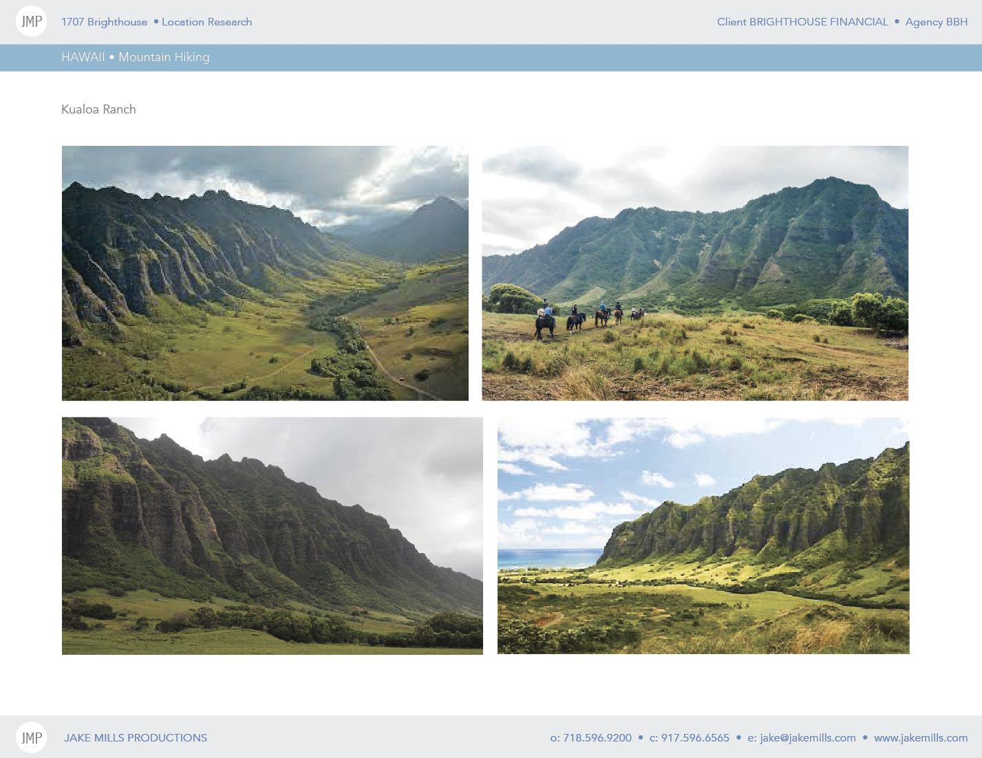 We needed production-friendly access. Kualoa Ranch, Oahu, was perfect.