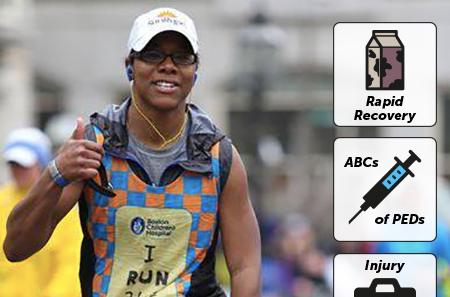 The Science of Marathon Running Boston Children's Vector, 2016