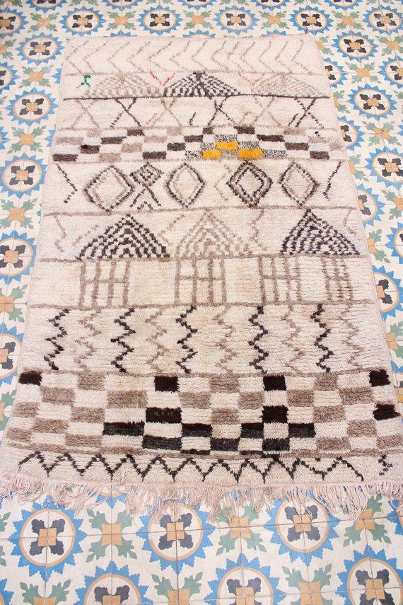 Vintage Azilal Rug