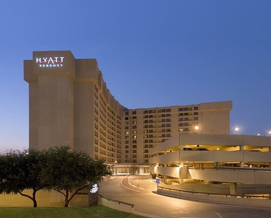 Hyatt Regency DFW - Walking distance from airport; 30 minutes to downtown; Numerous overnight flights out.