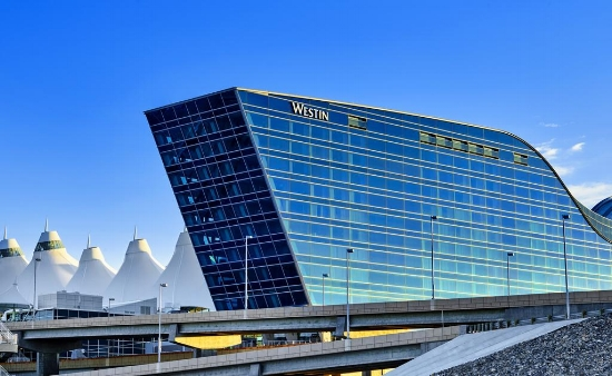 Westin Denver Airport - Walking distance from airport; 30 minutes from downtown; Numerous overnight flights out; Brand new hotel