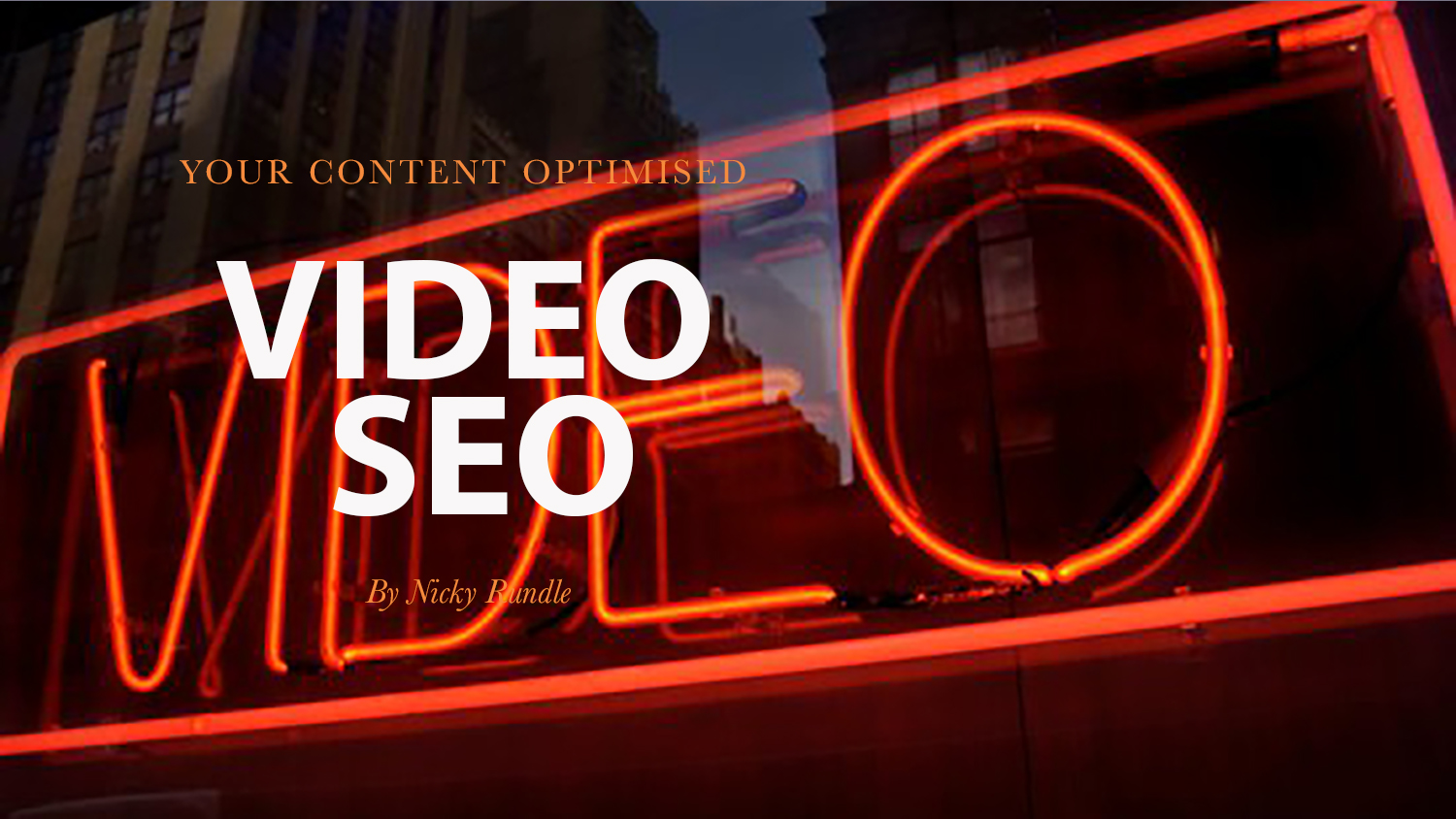 - VIDEO IS WORTH A THOUSAND CLICKS AND SOME...As a seasoned SEO expert, Rachel totally advocates the value of visual content.Read More…