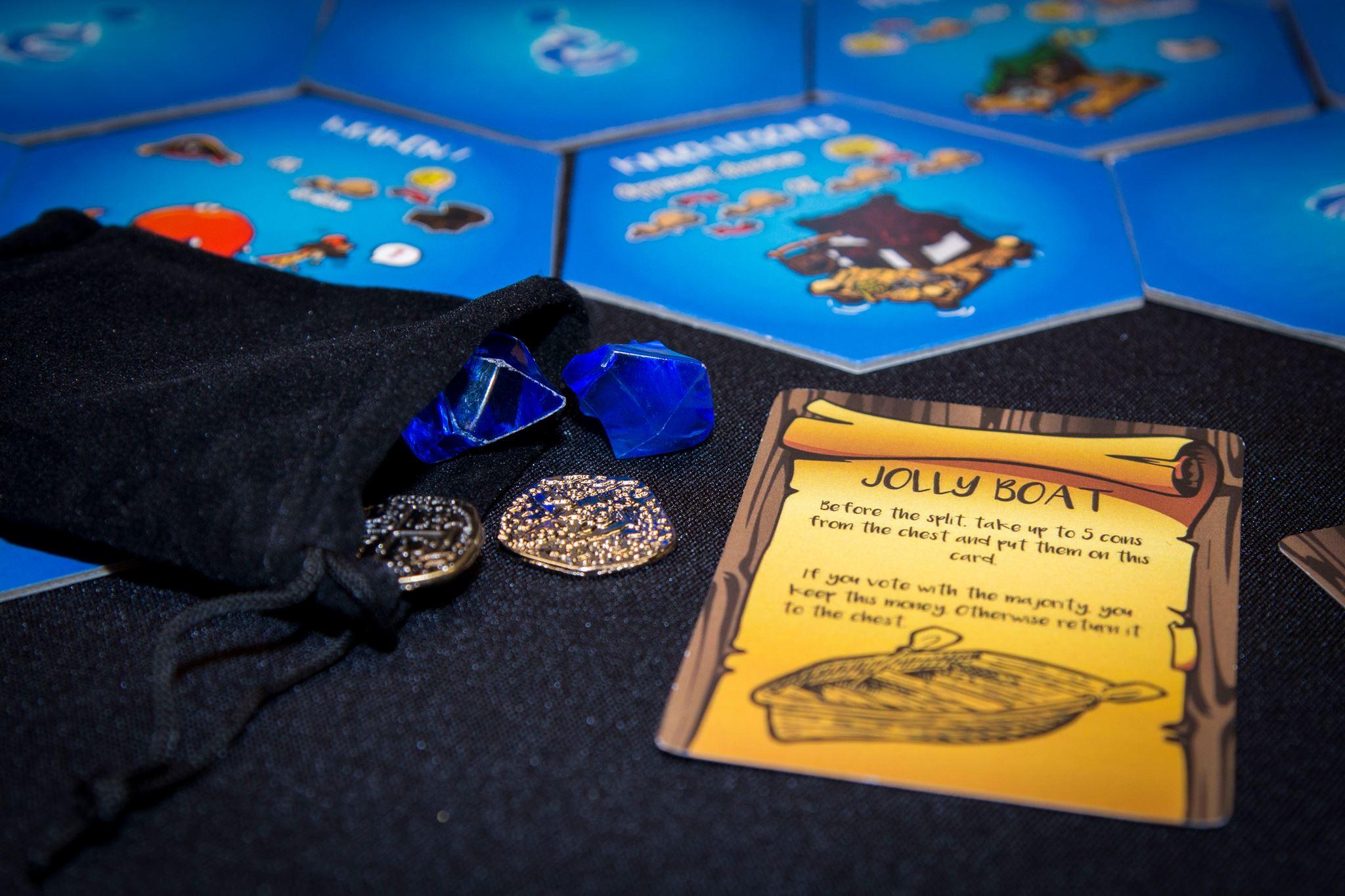 DemocraSea - A loot-splitting board game for aspiring politician-pirates.