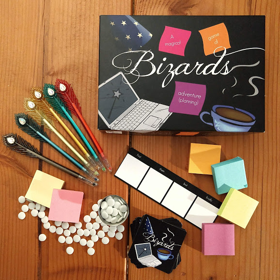 Bizards - A creative, collaborative party game inspired by Agile Design—and the fact that wizards always seem to delegate all the really hard jobs.