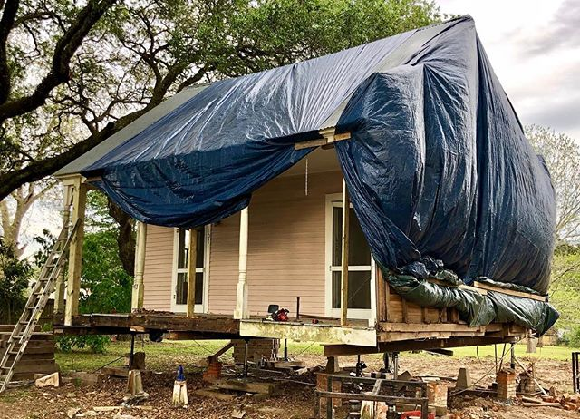 Early 19th century Acadian Cottage moving locations to become the new Welcome Center for Carencro, LA